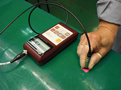 13、密着試験と膜厚測定